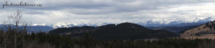Rocky Mountains from Wild Cat Hills